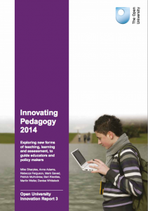 Innovate Pedagogy Report